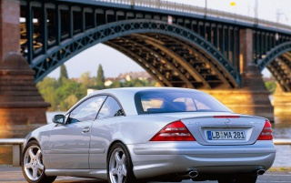 CL 55 AMG #2 wallpapers and stock photos