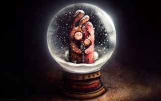 Snow Globe wallpapers and stock photos