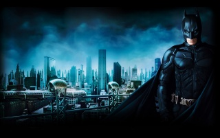 Batman 3 Gotham City wallpapers and stock photos