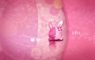 pink rabbit wallpapers and stock photos