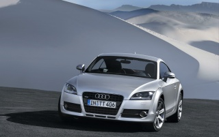 Audi TT 2007 front wallpapers and stock photos