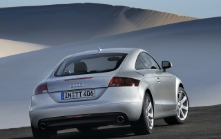 Audi TT 2007 rear wallpapers and stock photos