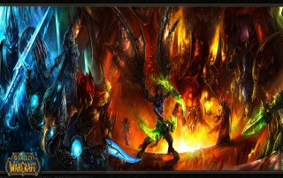 WOW: Burning Crusade wallpapers and stock photos