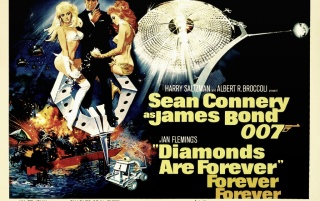 007 in Diamonds are Forever wallpapers and stock photos