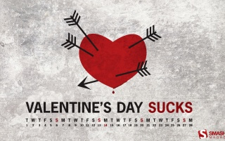 Valentine's Day sucks wallpapers and stock photos