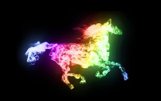 Smoking Horse wallpapers and stock photos