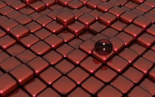 Red Glass Box Floor wallpapers and stock photos
