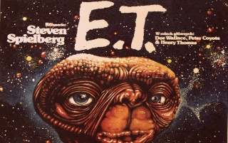 Vintage E.T. One Sheet wallpapers and stock photos