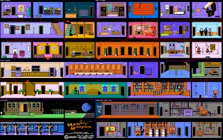 Retro: Maniac Mansion wallpapers and stock photos