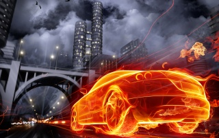 Burning Car wallpapers and stock photos