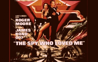 007 in The Spy Who Loved Me wallpapers and stock photos