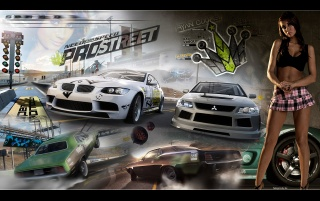 Need for Speed: Pro Street wallpapers and stock photos