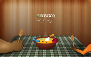Next: Envato recipes