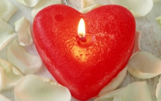 Heart candle wallpapers and stock photos