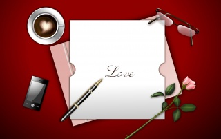 Love letter wallpapers and stock photos