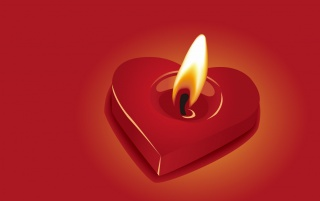 Heart shaped candle wallpapers and stock photos