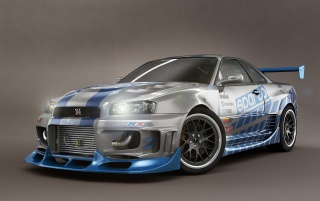 Nissan Skyline wallpapers and stock photos