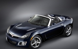 Saturn Sky front wallpapers and stock photos