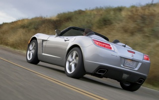 Saturn Sky back wallpapers and stock photos