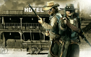 Call of Juarez: Bound in Blood wallpapers and stock photos