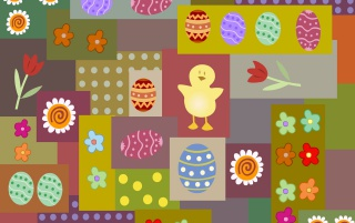 Easter in color wallpapers and stock photos