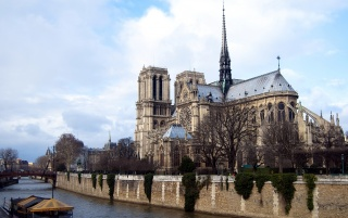 Notre Dame de Paris wallpapers and stock photos