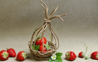 Strawberry Basket wallpapers and stock photos