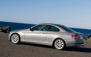 BMW 335i Coupe wallpapers and stock photos