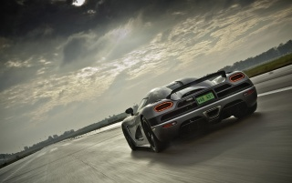 Agera rear angle wallpapers and stock photos