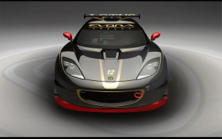 Evora GT faţ� wallpapers and stock photos