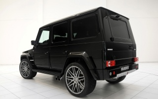 Brabus G rear angle wallpapers and stock photos