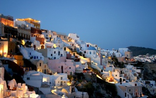 Houses in Greece wallpapers and stock photos