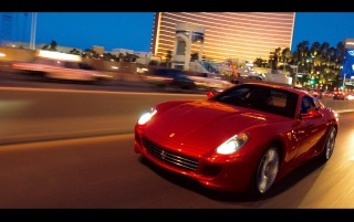 Ferrari 599 GTB out wallpapers and stock photos