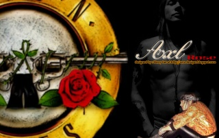 Axl Rose - WP01 by Herry Ian wallpapers and stock photos