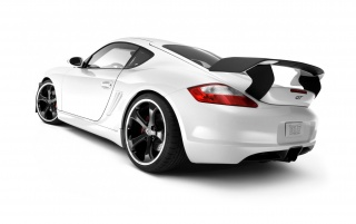 White Porsche GT wallpapers and stock photos