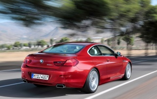 6 series rear angle wallpapers and stock photos