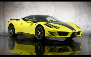 Mansory 458 vor wallpapers and stock photos