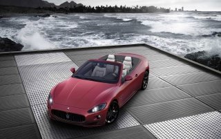 Maserati Cabrio Sport 2011 wallpapers and stock photos