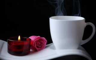Coffee Romance wallpapers and stock photos