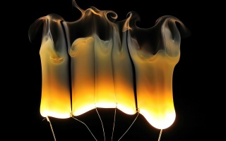 Fire Lamps wallpapers and stock photos