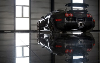 Veyron reflection wallpapers and stock photos