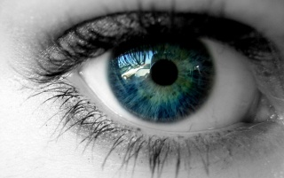 Reflections in eye wallpapers and stock photos