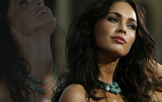 Megan Fox - Wall aulladores wallpapers and stock photos