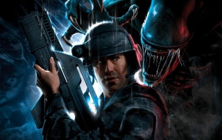Aliens: Colonial Marines wallpapers and stock photos