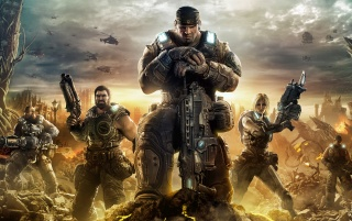 Gears of War 3 wallpapers and stock photos