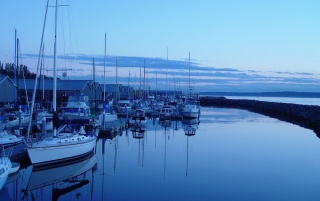 Harbour Reflexion wallpapers and stock photos
