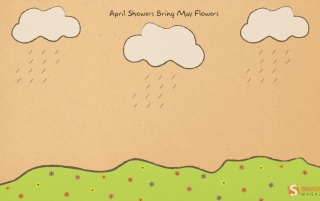 April showers bring flowers wallpapers and stock photos