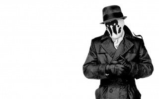 Rorschach in black wallpapers and stock photos