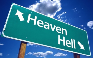 Heaven / Hell wallpapers and stock photos