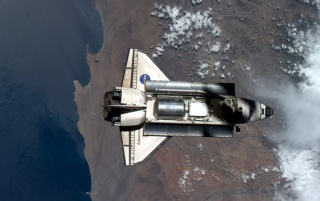 Shuttle von oben wallpapers and stock photos